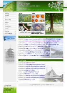 大学研究室サイト